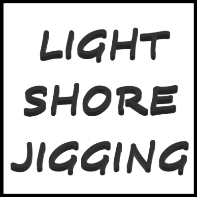 LIGHT SHORE JIGGING