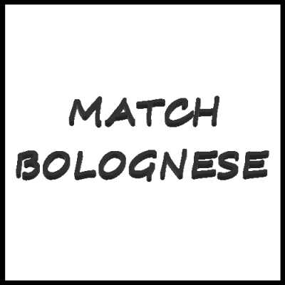 MATCH-BOLOGNESE