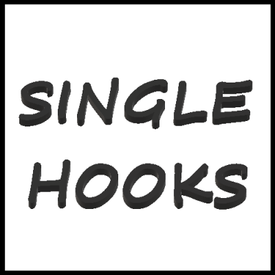 SINGLE HOOKS